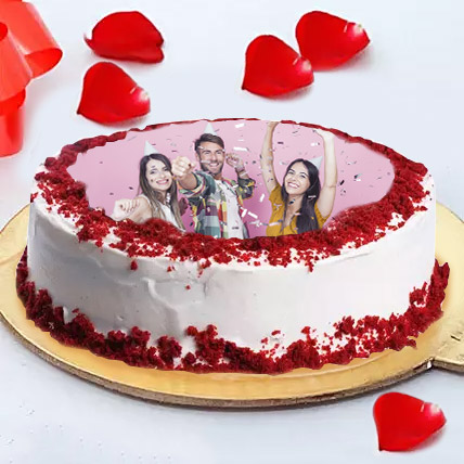 Excellent Birthday Photo Cake For Friends Black Forest 2 Kg Eggless In Uae Funny Birthday Cards Online Chimdamsfinfo