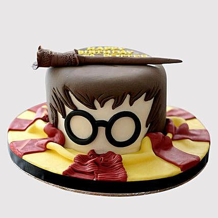 Astonishing Harry Potter Wand Red Velvet Cake In Uae Gift Harry Potter Wand Funny Birthday Cards Online Alyptdamsfinfo