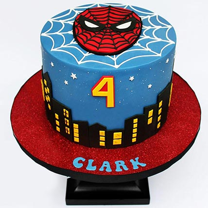 Miraculous Spiderman Red Velvet Birthday Cake In Uae Gift Red Velvet Personalised Birthday Cards Paralily Jamesorg